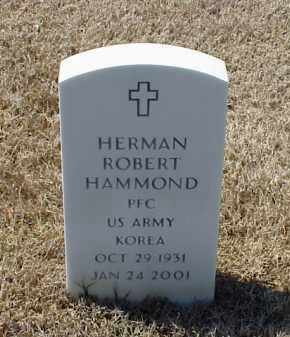 HAMMOND (VETERAN KOR), HERMAN ROBERT - Pulaski County, Arkansas | HERMAN ROBERT HAMMOND (VETERAN KOR) - Arkansas Gravestone Photos