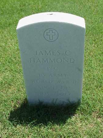 HAMMOND (VETERAN WWII), JAMES C - Pulaski County, Arkansas   JAMES C HAMMOND (VETERAN WWII) - Arkansas Gravestone Photos