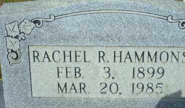 HAMMONS, RACHEL R. - Pulaski County, Arkansas | RACHEL R. HAMMONS - Arkansas Gravestone Photos