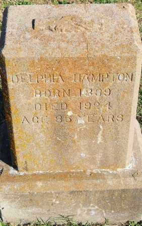 HAMPTON, DELPHIA - Pulaski County, Arkansas | DELPHIA HAMPTON - Arkansas Gravestone Photos