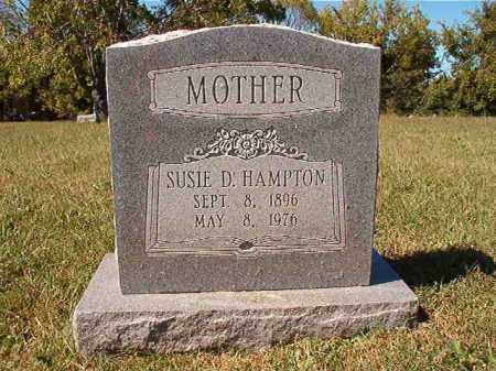 HAMPTON, SUSIE D - Pulaski County, Arkansas | SUSIE D HAMPTON - Arkansas Gravestone Photos