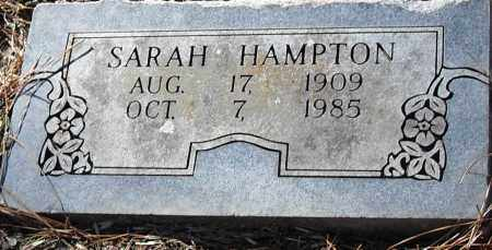 HAMPTON, SARAH - Pulaski County, Arkansas | SARAH HAMPTON - Arkansas Gravestone Photos