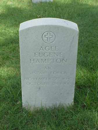 HAMPTON (VETERAN), AGEE EUGENE - Pulaski County, Arkansas | AGEE EUGENE HAMPTON (VETERAN) - Arkansas Gravestone Photos