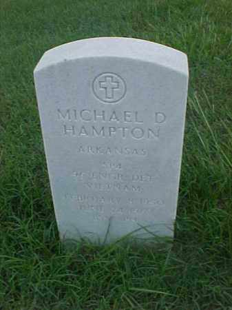 HAMPTON (VETERAN VIET), MICHAEL D - Pulaski County, Arkansas | MICHAEL D HAMPTON (VETERAN VIET) - Arkansas Gravestone Photos