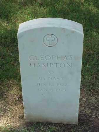 HAMPTON (VETERAN WWII), CLEOPHAS - Pulaski County, Arkansas | CLEOPHAS HAMPTON (VETERAN WWII) - Arkansas Gravestone Photos