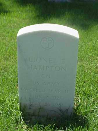 HAMPTON (VETERAN WWII), LIONEL E - Pulaski County, Arkansas | LIONEL E HAMPTON (VETERAN WWII) - Arkansas Gravestone Photos