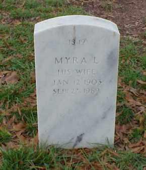 HANCOCK, MYRA L. - Pulaski County, Arkansas | MYRA L. HANCOCK - Arkansas Gravestone Photos