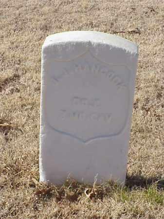 HANCOCK  (VETERAN UNION), J J - Pulaski County, Arkansas | J J HANCOCK  (VETERAN UNION) - Arkansas Gravestone Photos