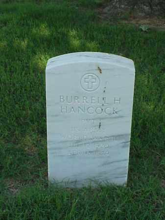 HANCOCK (VETERAN WWII), BURRELL H - Pulaski County, Arkansas | BURRELL H HANCOCK (VETERAN WWII) - Arkansas Gravestone Photos