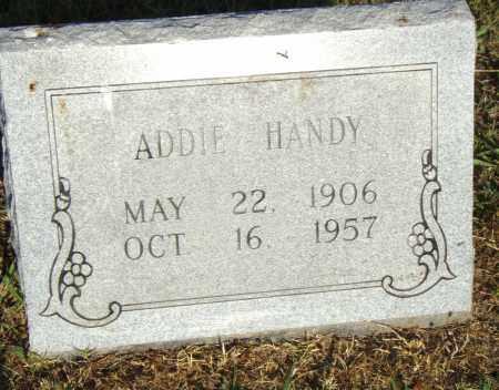 HANDY, ADDIE - Pulaski County, Arkansas | ADDIE HANDY - Arkansas Gravestone Photos