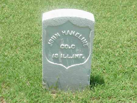HANELINE (VETERAN UNION), JOHN - Pulaski County, Arkansas | JOHN HANELINE (VETERAN UNION) - Arkansas Gravestone Photos