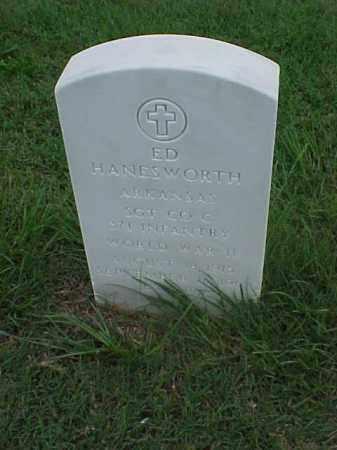 HANESWORTH (VETERAN WWII), ED - Pulaski County, Arkansas | ED HANESWORTH (VETERAN WWII) - Arkansas Gravestone Photos