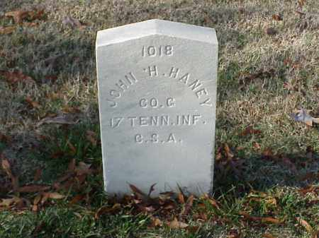 HANEY  (VETERAN CSA), JOHN H - Pulaski County, Arkansas | JOHN H HANEY  (VETERAN CSA) - Arkansas Gravestone Photos