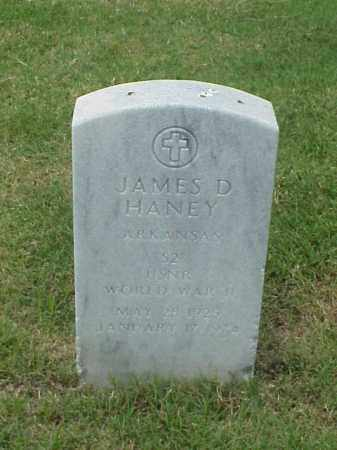 HANEY (VETERAN WWII), JAMES D - Pulaski County, Arkansas | JAMES D HANEY (VETERAN WWII) - Arkansas Gravestone Photos