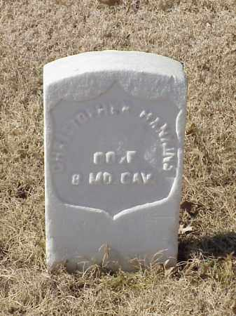 HANKINS  (VETERAN UNION), CHRISTOPHER - Pulaski County, Arkansas | CHRISTOPHER HANKINS  (VETERAN UNION) - Arkansas Gravestone Photos