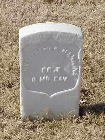 HANKINS  (VETERAN UNION), CHRISTOPHER - Pulaski County, Arkansas | CHRISTOPHER HANKINS  (VETERAN UNION) - Arkansas Gravestone Photos