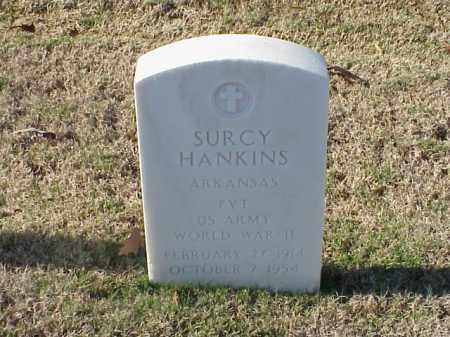 HANKINS  (VETERAN WWII), SURCY - Pulaski County, Arkansas | SURCY HANKINS  (VETERAN WWII) - Arkansas Gravestone Photos