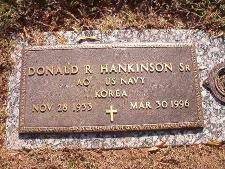 HANKINSON, SR (VETERAN KOR), DONALD R - Pulaski County, Arkansas | DONALD R HANKINSON, SR (VETERAN KOR) - Arkansas Gravestone Photos