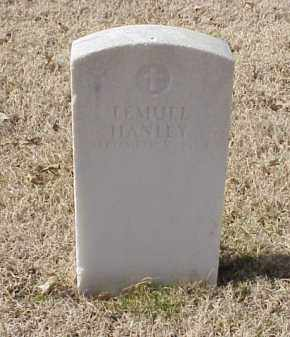 HANLEY  (VETERAN UNION), LEMUEL - Pulaski County, Arkansas | LEMUEL HANLEY  (VETERAN UNION) - Arkansas Gravestone Photos