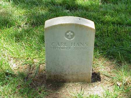 HANS (VETERAN UNION), CARL - Pulaski County, Arkansas | CARL HANS (VETERAN UNION) - Arkansas Gravestone Photos