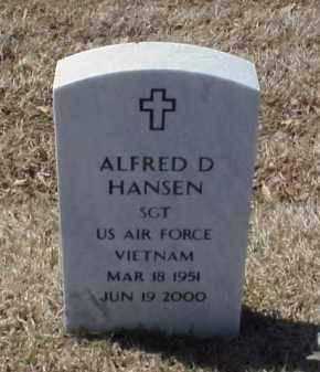 HANSEN (VETERAN VIET), ALFRED D - Pulaski County, Arkansas | ALFRED D HANSEN (VETERAN VIET) - Arkansas Gravestone Photos