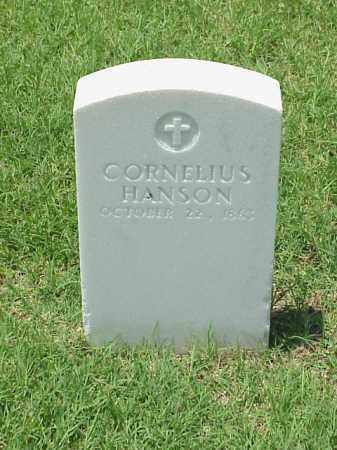 HANSON (VETERAN UNION), CORNELIUS - Pulaski County, Arkansas | CORNELIUS HANSON (VETERAN UNION) - Arkansas Gravestone Photos