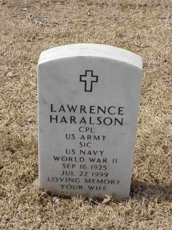 HARALSON  (VETERAN WWII), LAWRENCE - Pulaski County, Arkansas | LAWRENCE HARALSON  (VETERAN WWII) - Arkansas Gravestone Photos
