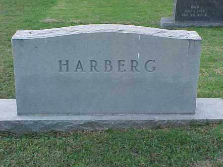 HARBERG FAMILY STONE,  - Pulaski County, Arkansas |  HARBERG FAMILY STONE - Arkansas Gravestone Photos