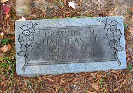 HARDCASTLE, GRAYDON M - Pulaski County, Arkansas | GRAYDON M HARDCASTLE - Arkansas Gravestone Photos