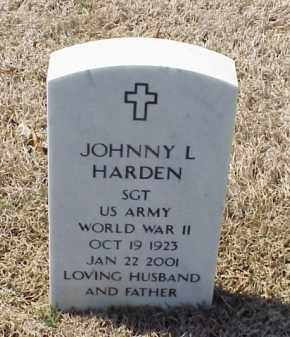 HARDEN (VETERAN WWII), JOHNNY L - Pulaski County, Arkansas | JOHNNY L HARDEN (VETERAN WWII) - Arkansas Gravestone Photos