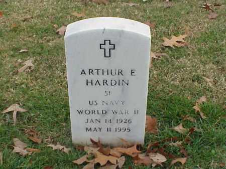 HARDIN  (VETERAN WWII), ARTHUR E - Pulaski County, Arkansas | ARTHUR E HARDIN  (VETERAN WWII) - Arkansas Gravestone Photos