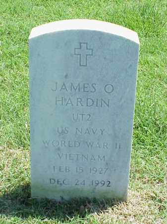 HARDIN (VETERAN 2 WARS), JAMES O - Pulaski County, Arkansas | JAMES O HARDIN (VETERAN 2 WARS) - Arkansas Gravestone Photos