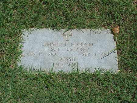 HARDIN (VETERAN), JIMMIE E - Pulaski County, Arkansas | JIMMIE E HARDIN (VETERAN) - Arkansas Gravestone Photos