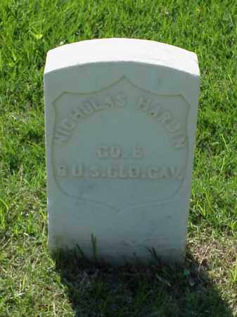 HARDIN (VETERAN UNION), NICHOLAS - Pulaski County, Arkansas | NICHOLAS HARDIN (VETERAN UNION) - Arkansas Gravestone Photos