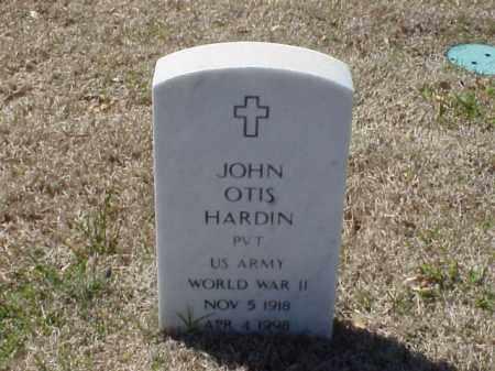 HARDIN (VETERAN WWII), JOHN OTIS - Pulaski County, Arkansas | JOHN OTIS HARDIN (VETERAN WWII) - Arkansas Gravestone Photos