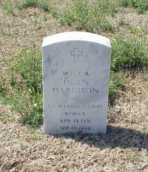 HARDISON (VETERAN KOR), WILLA DEAN - Pulaski County, Arkansas | WILLA DEAN HARDISON (VETERAN KOR) - Arkansas Gravestone Photos