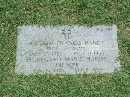 HARDY (VETERAN 2 WARS), WILLIAM FRANCIS - Pulaski County, Arkansas | WILLIAM FRANCIS HARDY (VETERAN 2 WARS) - Arkansas Gravestone Photos