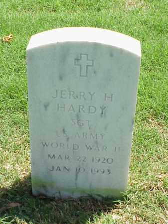 HARDY (VETERAN WWII), JERRY H - Pulaski County, Arkansas | JERRY H HARDY (VETERAN WWII) - Arkansas Gravestone Photos