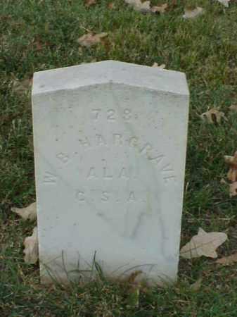HARGRAVE  (VETERAN CSA), W B - Pulaski County, Arkansas | W B HARGRAVE  (VETERAN CSA) - Arkansas Gravestone Photos