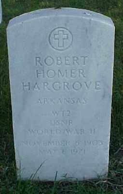 HARGROVE (VETERAN WWII), ROBERT HOMER - Pulaski County, Arkansas | ROBERT HOMER HARGROVE (VETERAN WWII) - Arkansas Gravestone Photos