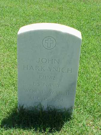 HARKANICH (VETERAN WWII), JOHN - Pulaski County, Arkansas | JOHN HARKANICH (VETERAN WWII) - Arkansas Gravestone Photos