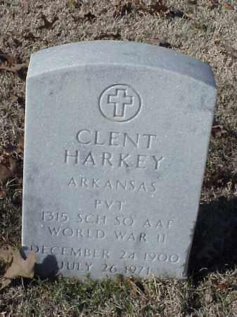 HARKEY  (VETERAN WWII), CLENT - Pulaski County, Arkansas | CLENT HARKEY  (VETERAN WWII) - Arkansas Gravestone Photos