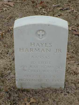 HARMAN, JR (VETERAN WWII), HAYES - Pulaski County, Arkansas | HAYES HARMAN, JR (VETERAN WWII) - Arkansas Gravestone Photos