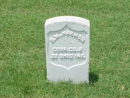 HARMON (VETERAN UNION), F M - Pulaski County, Arkansas | F M HARMON (VETERAN UNION) - Arkansas Gravestone Photos
