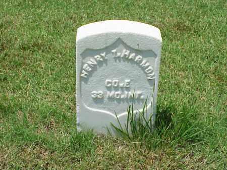 HARMON (VETERAN UNION), HENRY T - Pulaski County, Arkansas | HENRY T HARMON (VETERAN UNION) - Arkansas Gravestone Photos
