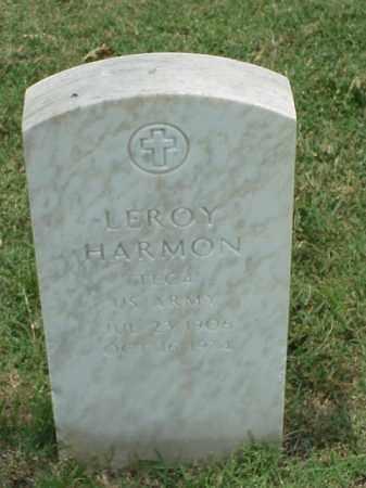 HARMON (VETERAN WWII), LEROY - Pulaski County, Arkansas | LEROY HARMON (VETERAN WWII) - Arkansas Gravestone Photos