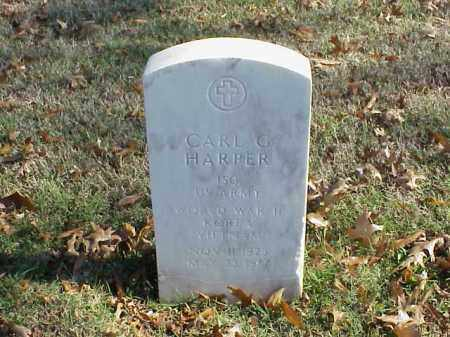 HARPER  (VETERAN 3 WARS), CARL G - Pulaski County, Arkansas | CARL G HARPER  (VETERAN 3 WARS) - Arkansas Gravestone Photos