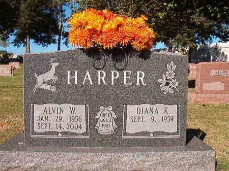 HARPER, ALVIN W - Pulaski County, Arkansas | ALVIN W HARPER - Arkansas Gravestone Photos