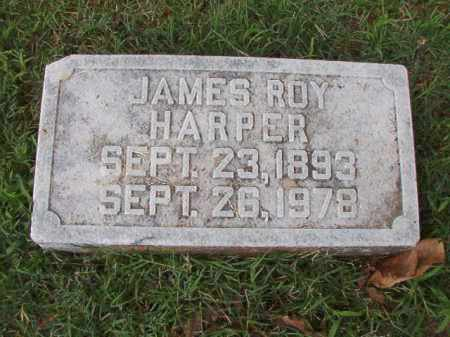 HARPER, JAMES ROY - Pulaski County, Arkansas | JAMES ROY HARPER - Arkansas Gravestone Photos