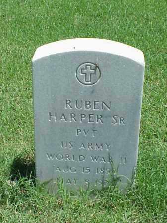 HARPER, SR (VETERAN WWII), RUBEN - Pulaski County, Arkansas | RUBEN HARPER, SR (VETERAN WWII) - Arkansas Gravestone Photos
